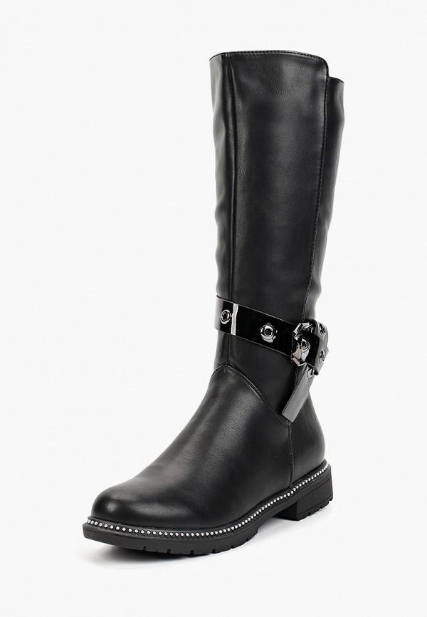 Сапоги для девочки T.Taccardi цвет черный  Фото 2