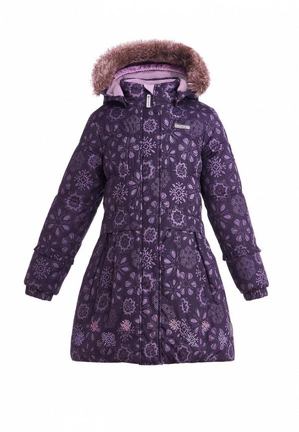 куртка premont для девочки, фиолетовая