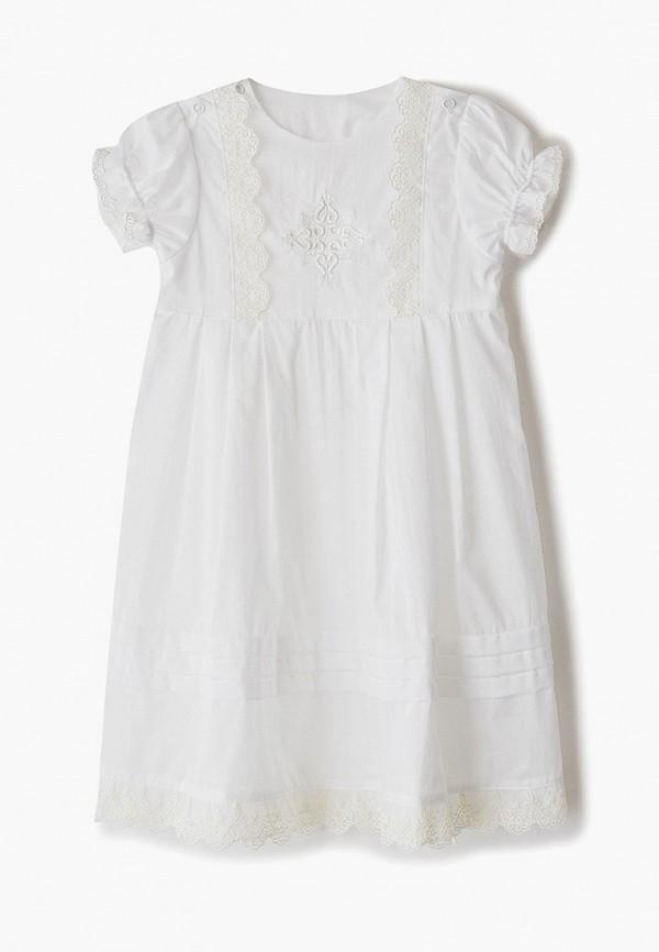 платье lucky child для девочки, белое