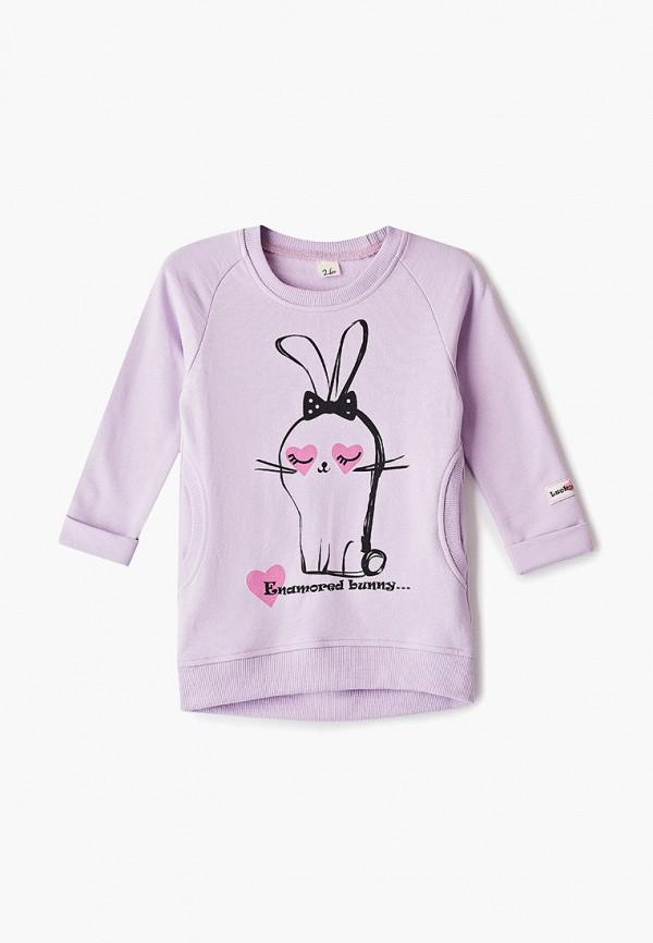 платье lucky child для девочки, фиолетовое