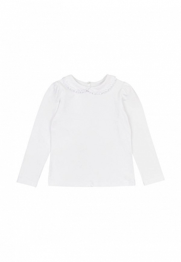 блузка кена для девочки, белая