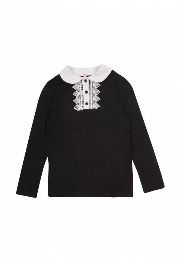 блузка vidoli для девочки, черная