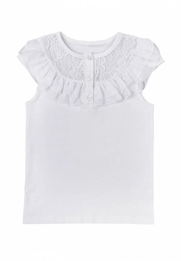 блузка vidoli для девочки, белая