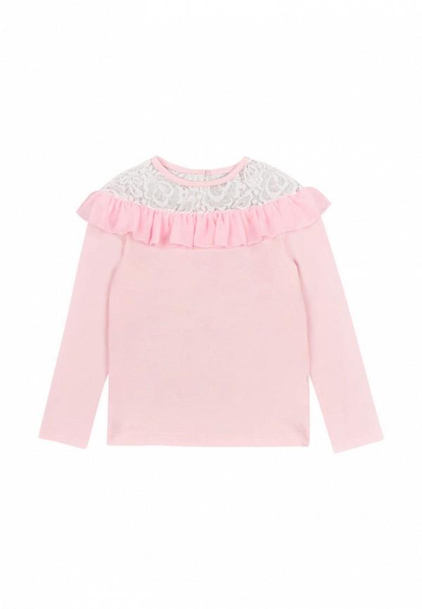 блузка vidoli для девочки, розовая