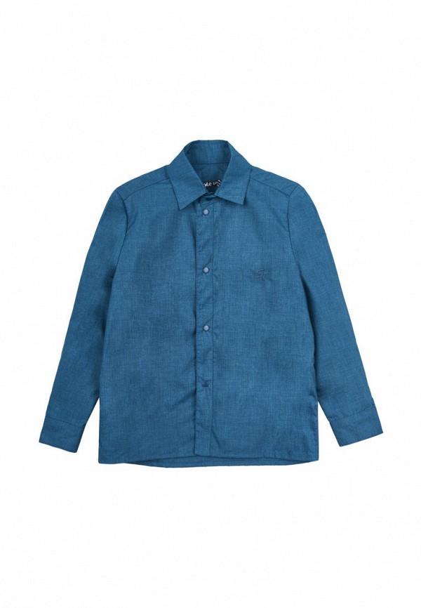 рубашка smile time для девочки, синяя