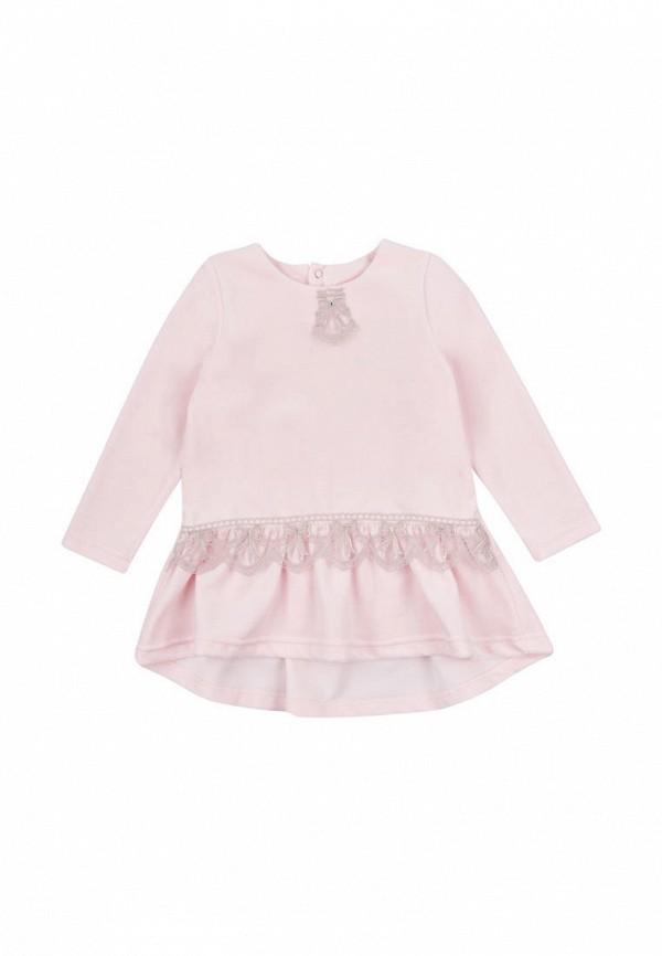 туника вітуся для девочки, розовая