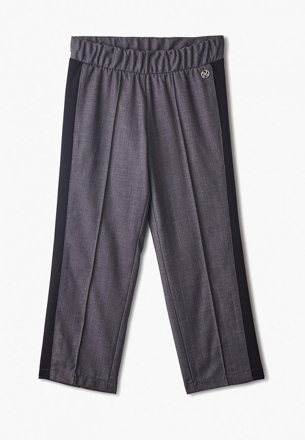 брюки danmaralex для девочки, серые