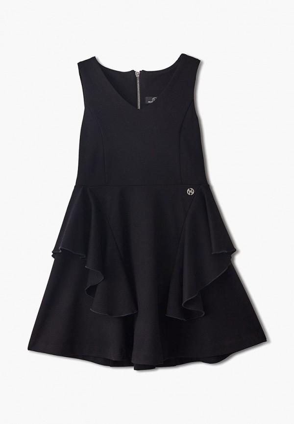 платье danmaralex для девочки, черное
