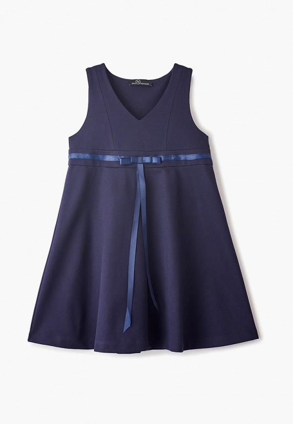 сарафан danmaralex для девочки, синий