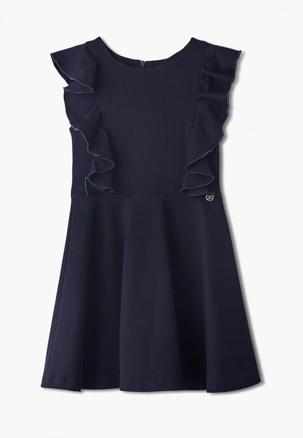платье danmaralex для девочки, синее