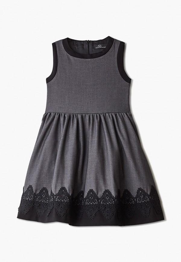 платье danmaralex для девочки, серое