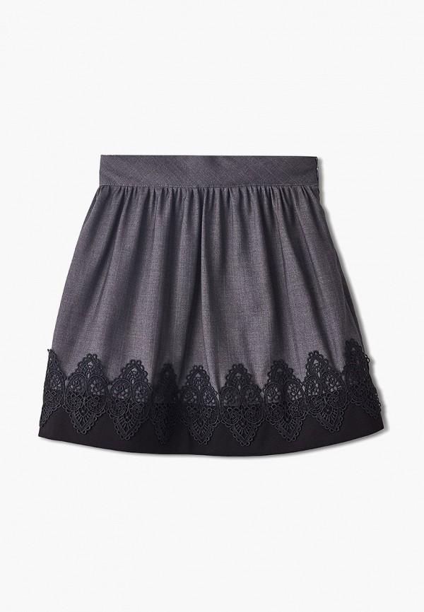 юбка danmaralex для девочки, серая