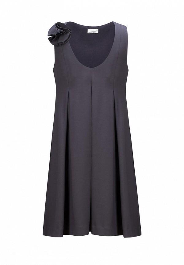 платье stylish amadeo для девочки, серое