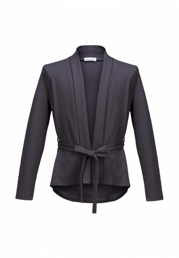 жакет stylish amadeo для девочки, серый
