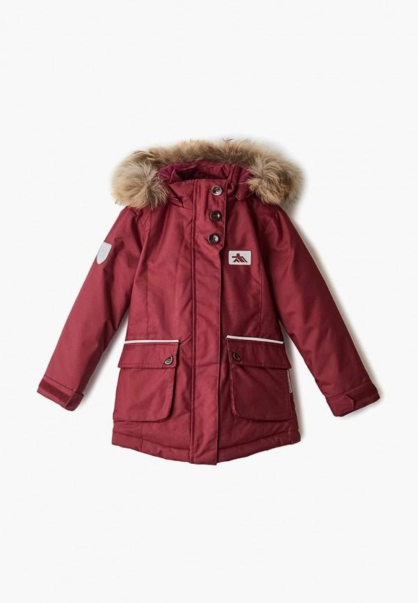 Купить Куртку утепленная Fobs бордового цвета