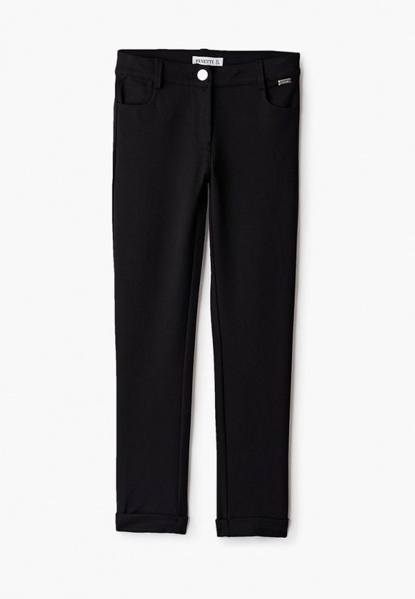 брюки pinetti для девочки, черные