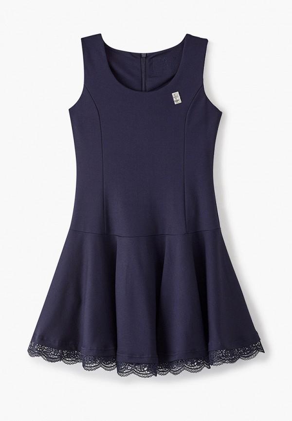 платье pinetti для девочки, синее
