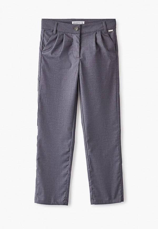 брюки pinetti для девочки, серые