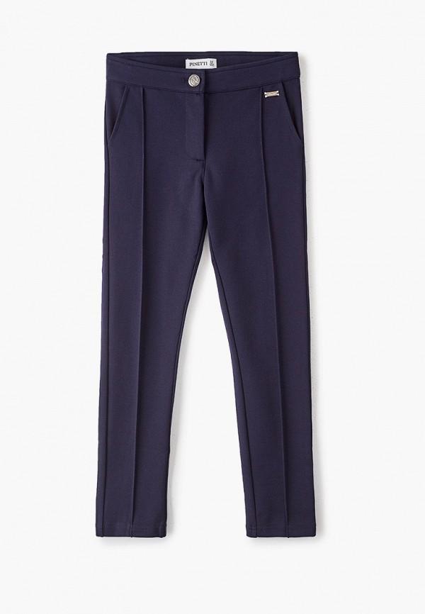 брюки pinetti для девочки, синие