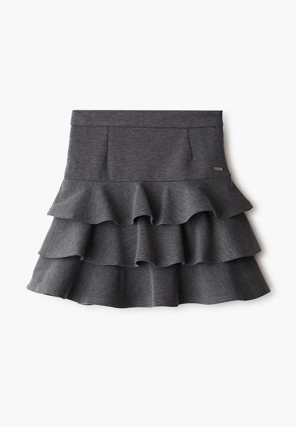 юбка pinetti для девочки, серая