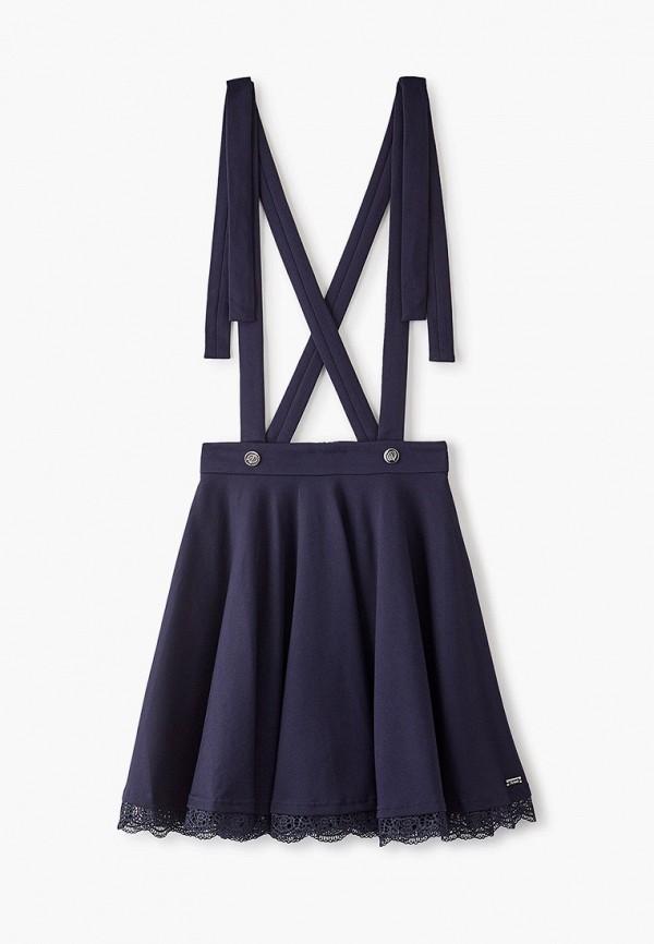 юбка pinetti для девочки, синяя