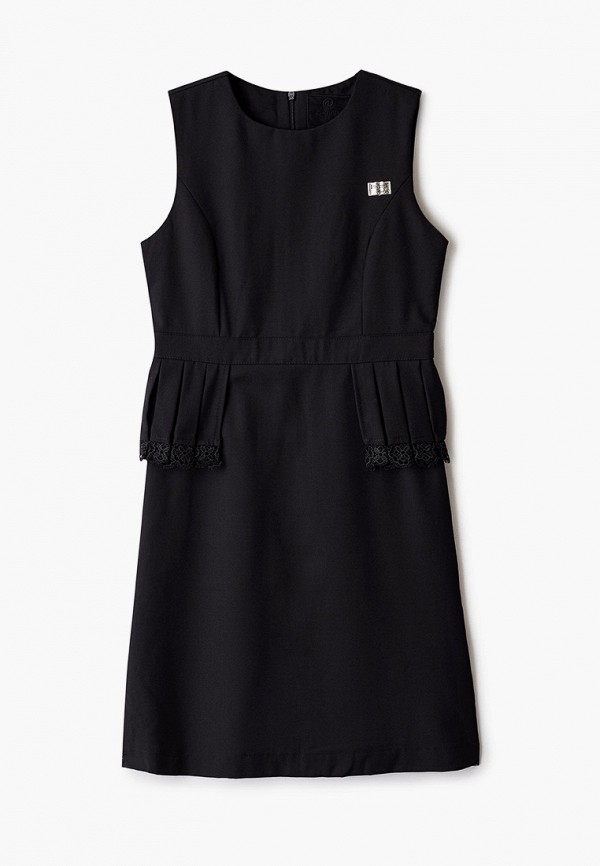 платье pinetti для девочки, черное