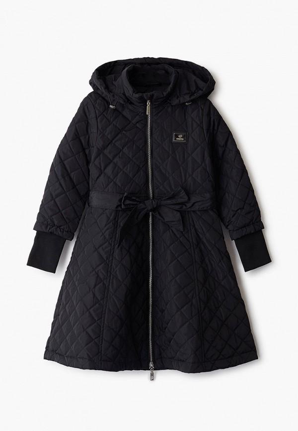куртка pinetti для девочки, черная
