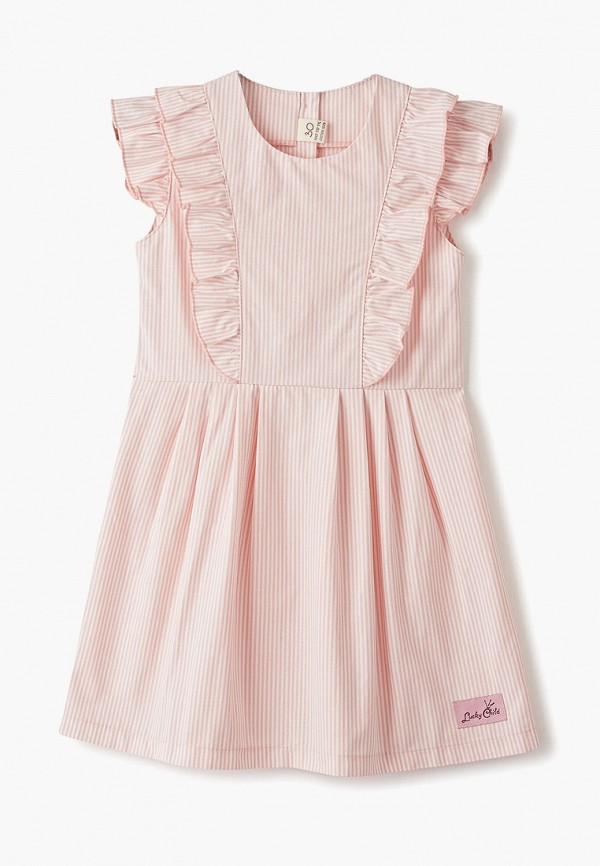 платье lucky child для девочки, разноцветное