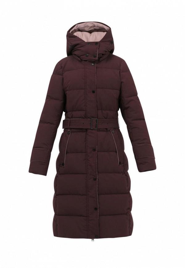 куртка jan steen для девочки, бордовая