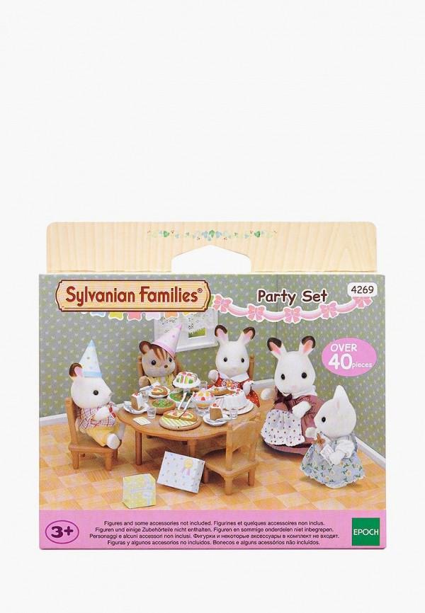 Набор игровой Sylvanian Families Sylvanian Families MP002XG00O0Y sylvanian families набор обеденный стол с 5 ю стульями