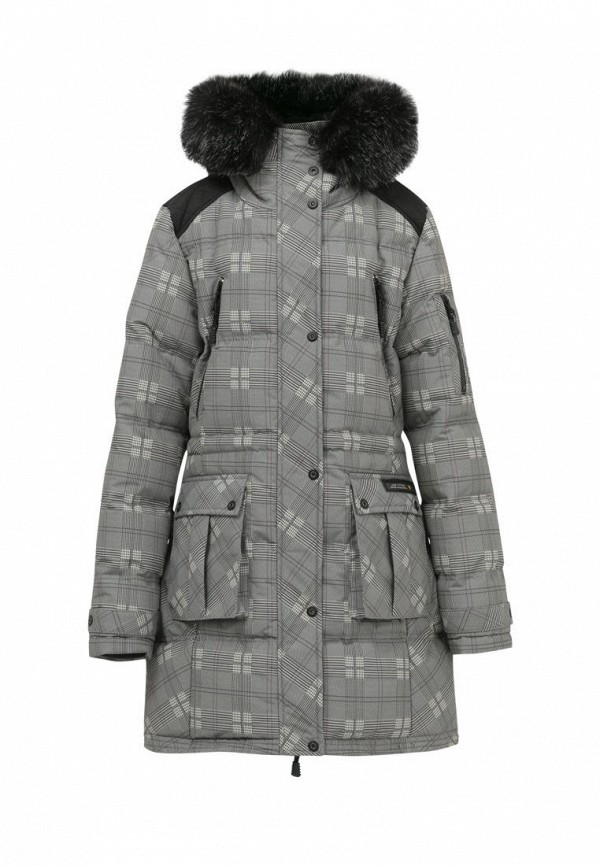 куртка bilemi для девочки, серая