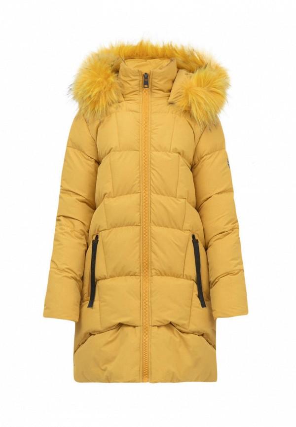 куртка jan steen для девочки, желтая
