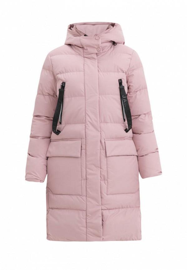куртка jan steen для девочки, розовая