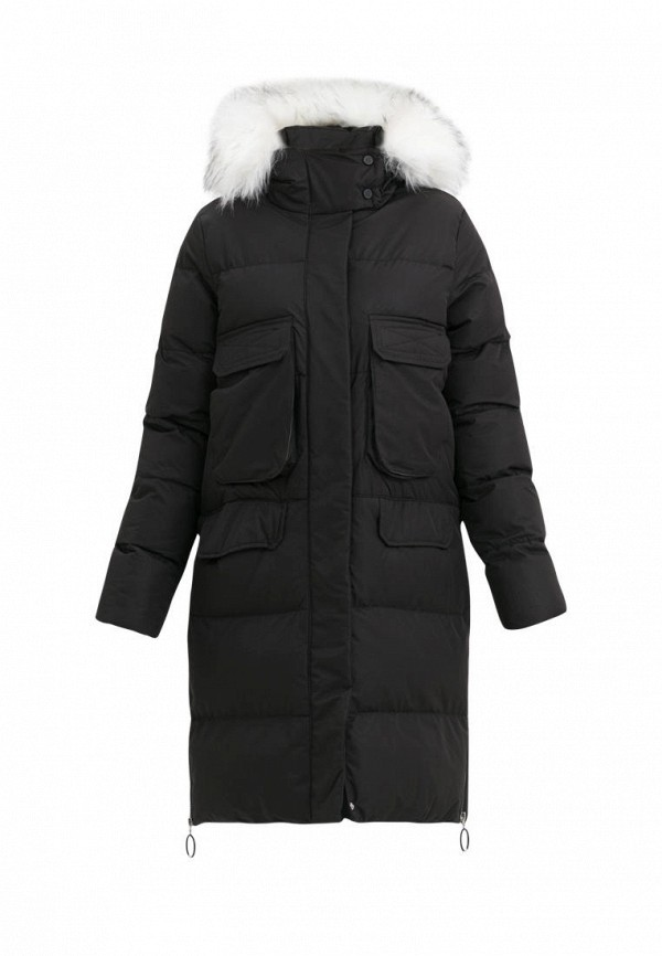 куртка jan steen для девочки, черная