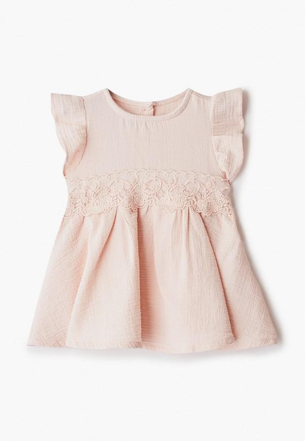 платье lc waikiki для девочки, розовое
