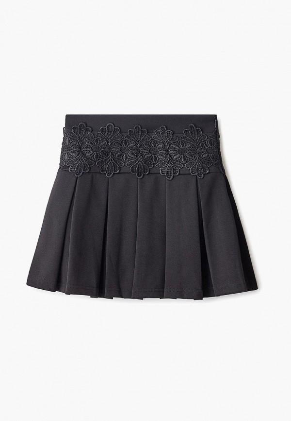 юбка dekskids для девочки, черная