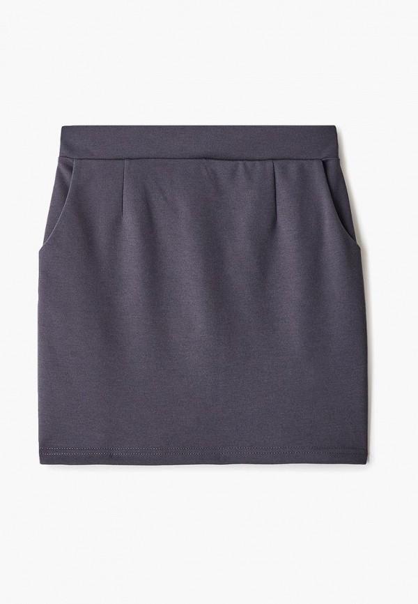 юбка dekskids для девочки, серая