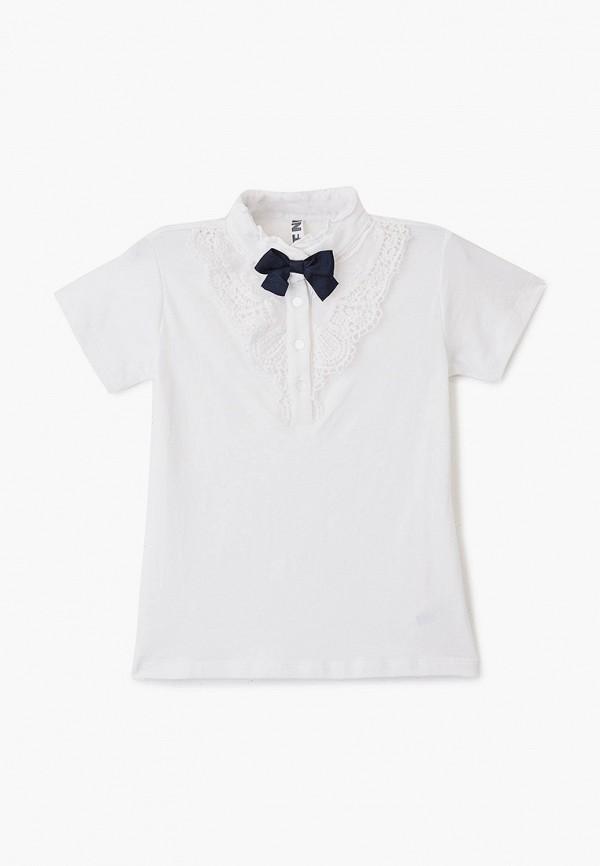 футболка infunt для девочки, белая