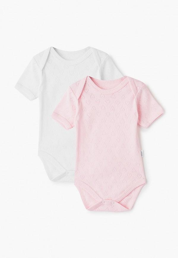 Боди Веселый малыш Веселый малыш MP002XG00OFO комбинезон домашний для девочки веселый малыш птички цвет розовый 156 322 пт розовый размер 86
