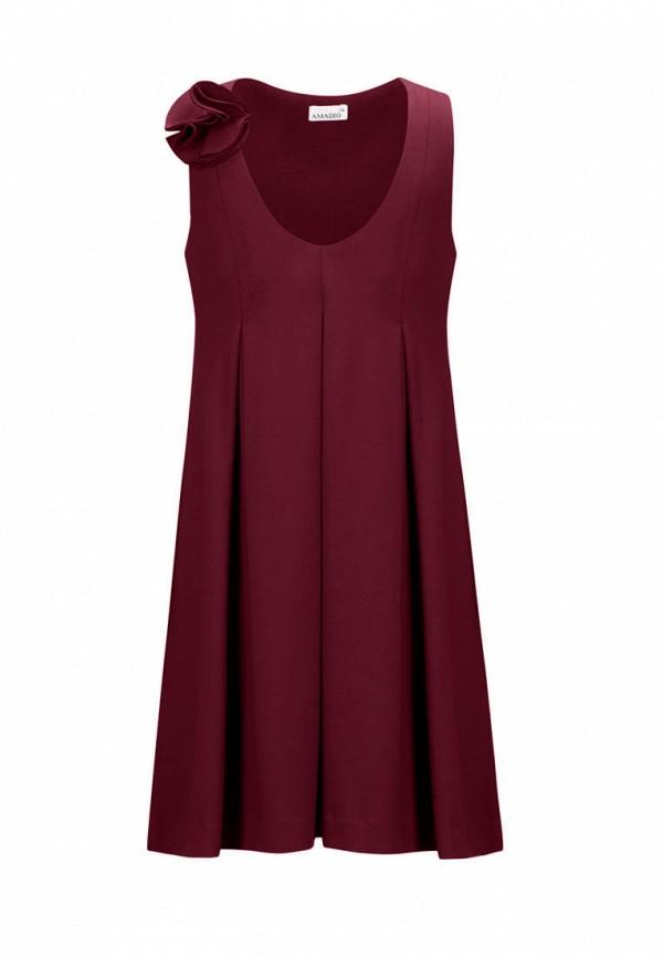 платье stylish amadeo для девочки, бордовое