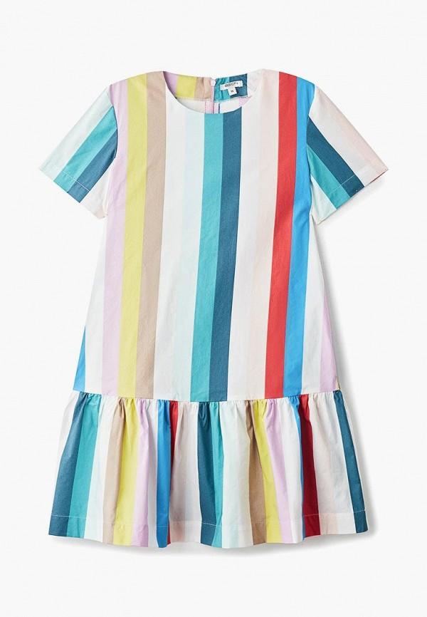 повседневные платье baon для девочки, разноцветное