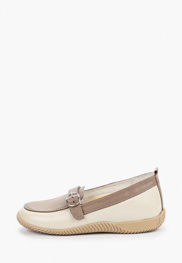 туфли орфея для девочки, бежевые