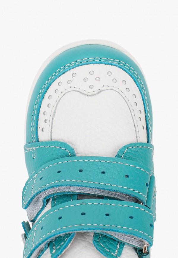 Ботинки для девочки Орфея цвет бирюзовый  Фото 4
