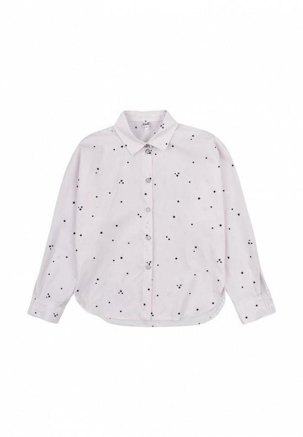 блузка mevis для девочки, розовая