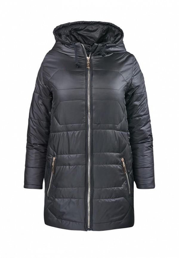 куртка одягайко для девочки, черная