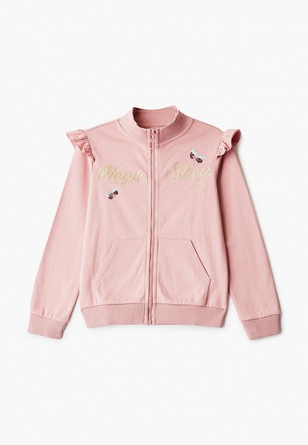 олимпийка infunt для девочки, розовая