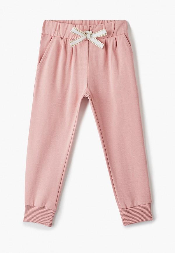 спортивные брюки infunt для девочки, розовые