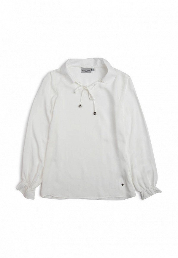 блузка finn flare для девочки, белая