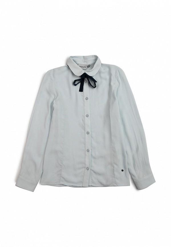 Блуза Finn Flare голубого цвета