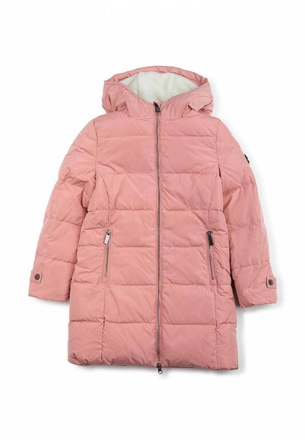куртка finn flare для девочки, розовая
